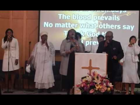 THE BLOOD PREVAILS THE BLOOD OF THE RISEN LAMB