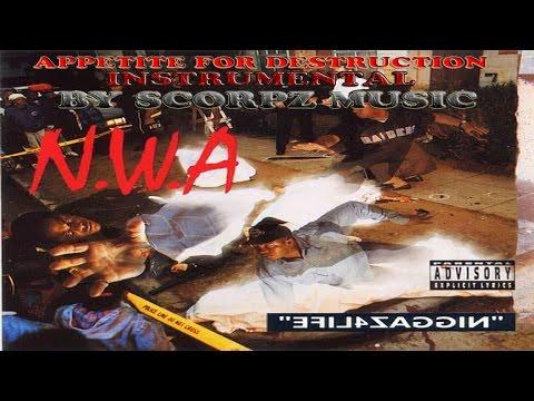 N.W.A - Appetite for Destruction (HQ Instrumental)