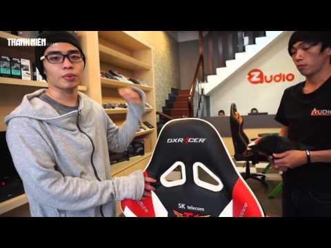 Giới thiệu ghế gaming DXRacer SKT Team 1