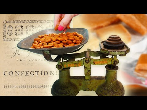 200 year old CANDY recipes | How To Cook That Ann Reardon