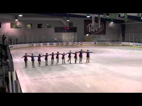 Allen Revolution Junior Youth Synchronized Ice Skating Team