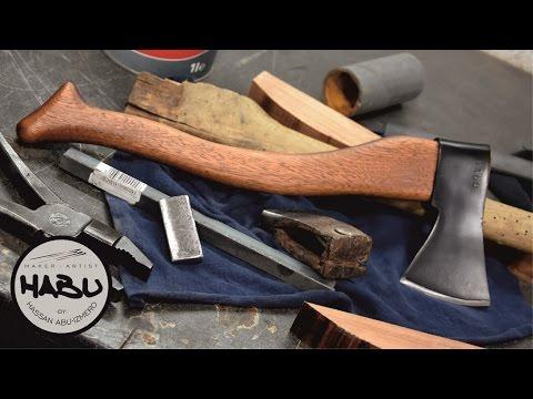 DIY  Building an axe out of scrap