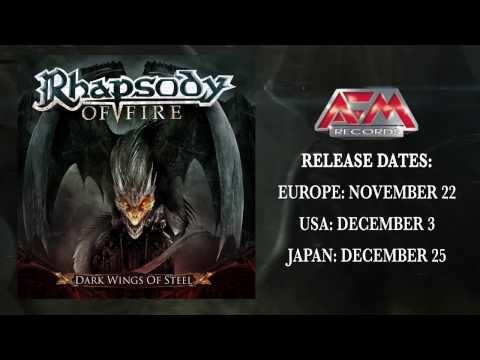 RHAPSODY OF FIRE - Dark Wings of Steel (2013) // Trailer 1 // AFM Records