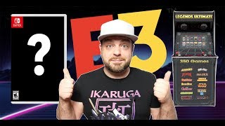 BIG NEW Xbox and Nintendo Switch E3 2019 Leaks + ATGames Home Arcade?