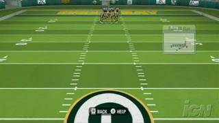 Madden NFL 09 All-Play Nintendo Wii Gameplay - Call Your