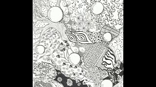 Most Intricate Zentangle (for me)