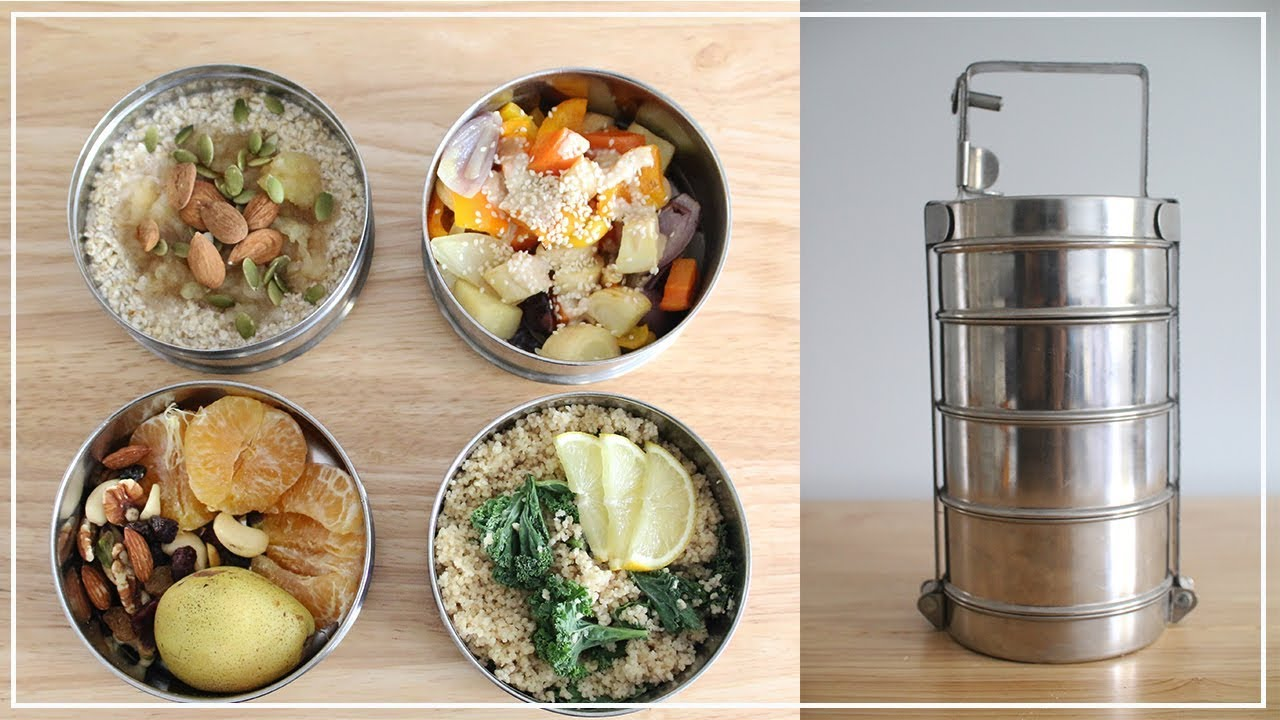 Meal Prep For The Week Zero Waste Breakfast Lunch