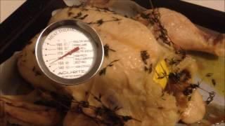 Cooking Heston Blumenthal&#39s Roast Chicken Recipe