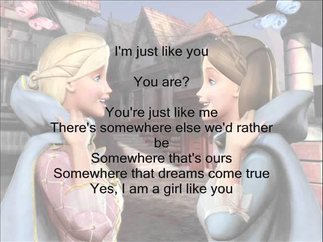 Im a girl like you barbie chords