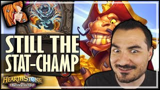 GOLDGRUBBER IS STILL THE STAT-CHAMP! - Hearthstone Battlegrounds