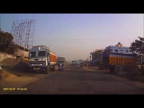 NH 34 Barasat to Amdanga Dec 2017 Dashcam Video