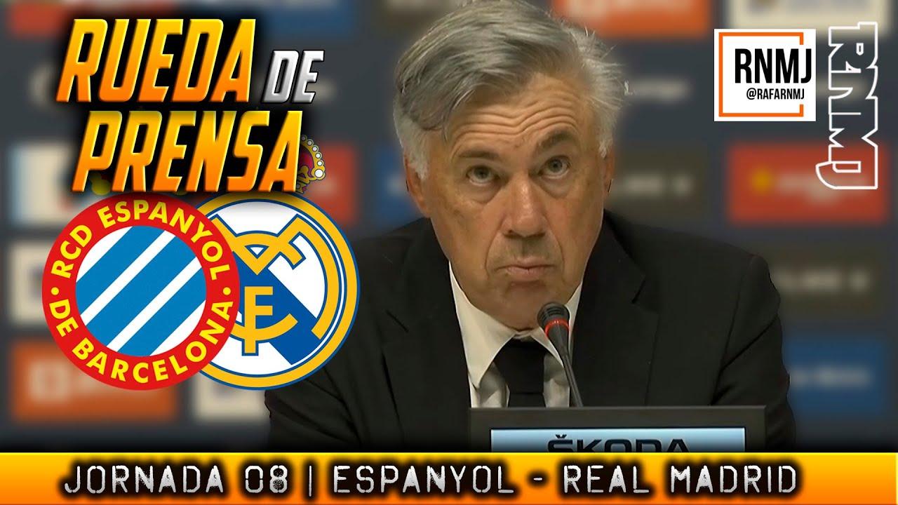 Rueda de prensa de ANCELOTTI post RCD Espanyol 2-1 Real Madrid (03/10/2021)