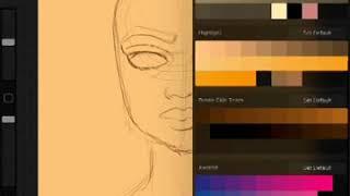 Copy of Portrait on iPad Pro with Apple Pencil