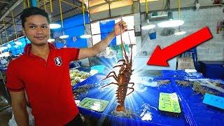 Таиланд ПЕРЕЗАГРУЗКА #25. САМЫЙ большой рыбный рынок в Паттайе. Сколько стоит ЛОБСТЕР, морепродукты?