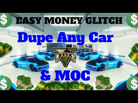 *VERY EASY*UNLIMITED MONEY GLITCH*ANY CAR DUPLICATION GLITCH*FREE MOC UPGRADES*GTA 5 ONLINE 1.42