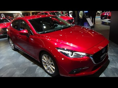 2017 Mazda 3 - Exterior and Interior -Zürich Car Show 2016