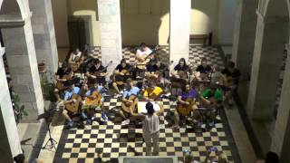 """Sempre Viva"" plays ""Delfini delfinaki"" at 22nd Hermoupolis guitar festival"