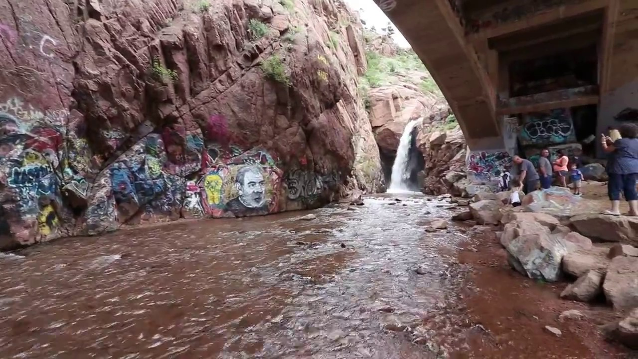 Manitou Springs Manitou Springs Colorado Graffiti Falls Is A Wonderful Place Under A