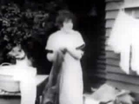 Mabel Normand Film #158: Mabel and Fatty's Wash Day (1915, Fatty Arbuckle)