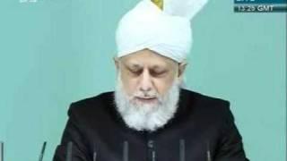 Shia Sunni or Adal wa Hakam khutba juma 2 12 2011 clip 4