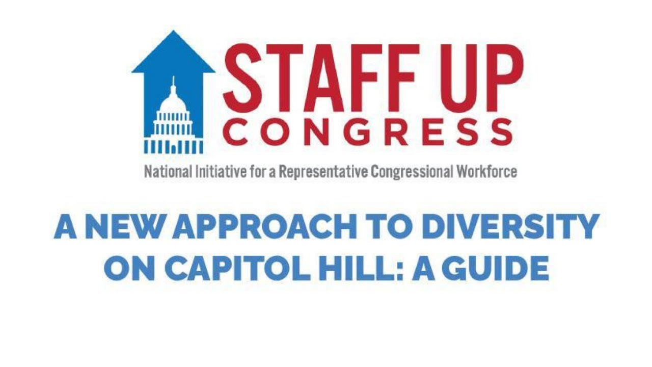 Webinar: A New Approach to Diversity on Capitol Hill