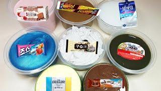 내가 좋아하는 아이스크림 시리즈액괴 2 🍦 | 푹신액점 | 퐁당액괴 | 마블링액괴 | 슬라임 | 뿌직