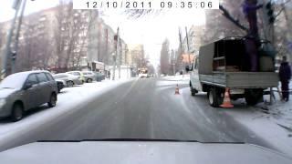 Новый светофор Новоузенская-Рахова