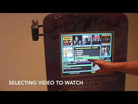 How to Play Karaoke & Videos with Touch Screen Navigation