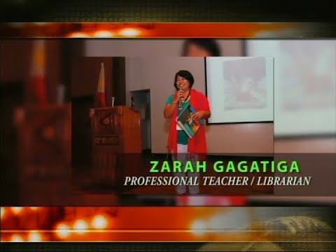 Iba Ang Pinoy: Zarah Gagatiga, Professional Teacher/Librarian