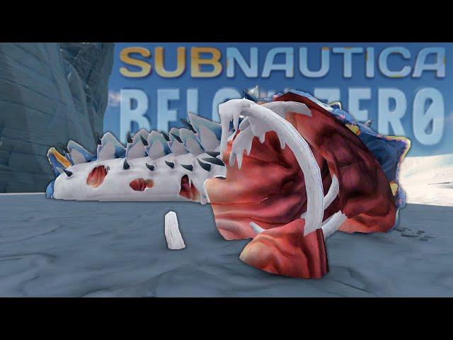 The Leviathan Graveyard... | Subnautica Below Zero