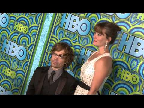 Peter Dinklage with wife Erica Schmidt at HBOs Post 65th Primetime