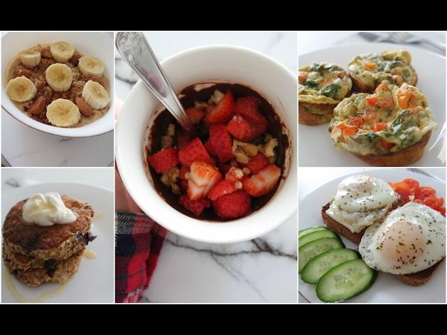 5 רעיונות לארוחות בוקר טעימות, בריאות ומהירות!