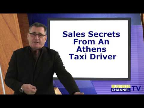 "Steve Clarke, Eureka Selling, ""Sales Secrets From an Athens Taxi Driver"""