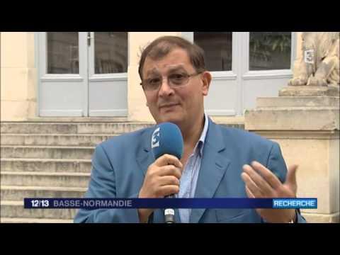 Le professeur Séralini présente une nouvelle étude : ITV dans le JT de France 3 Basse-Normandie