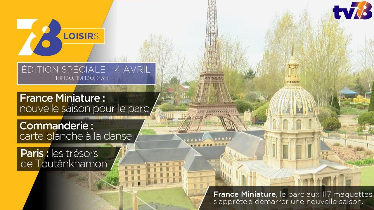 7/8 Loisirs. Édition spéciale ouverture de France Miniature à Elancourt