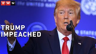 The US House of Representatives voted 229-198 on Wednesday to impeach President Donald Trump for obstruction of Congress.
