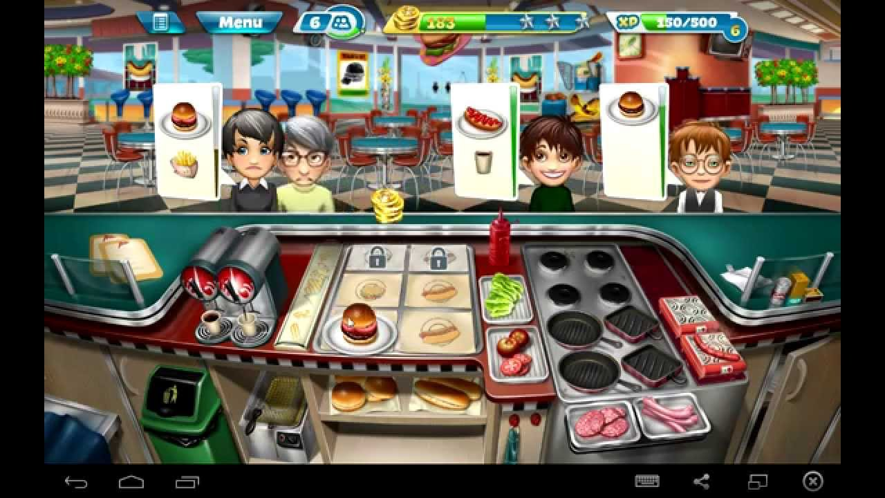 Cuisine Gameplay Android Cooking Fever Gameplay