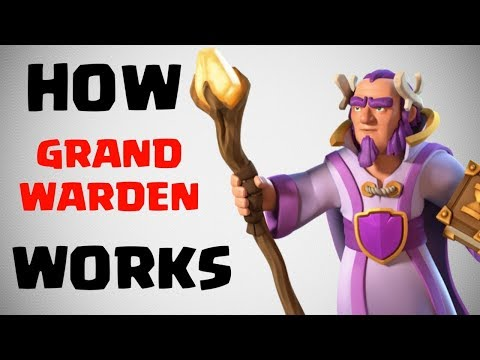 HOW GRAND WARDEN WORKS? CLASH OF CLANS INDIA
