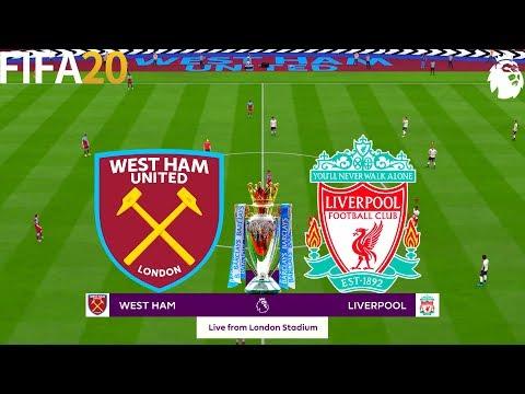FIFA 20 | West Ham Vs Liverpool - 19/20 Premier League - Full Match & Gameplay