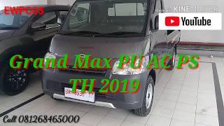 Review Grand Max Pick Up 1.5 Ac 2019 - EWP Chanel05 #grandmaxpickup