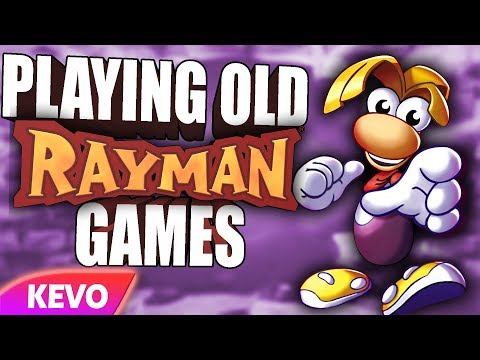 Playing Old Rayman Games In 2019