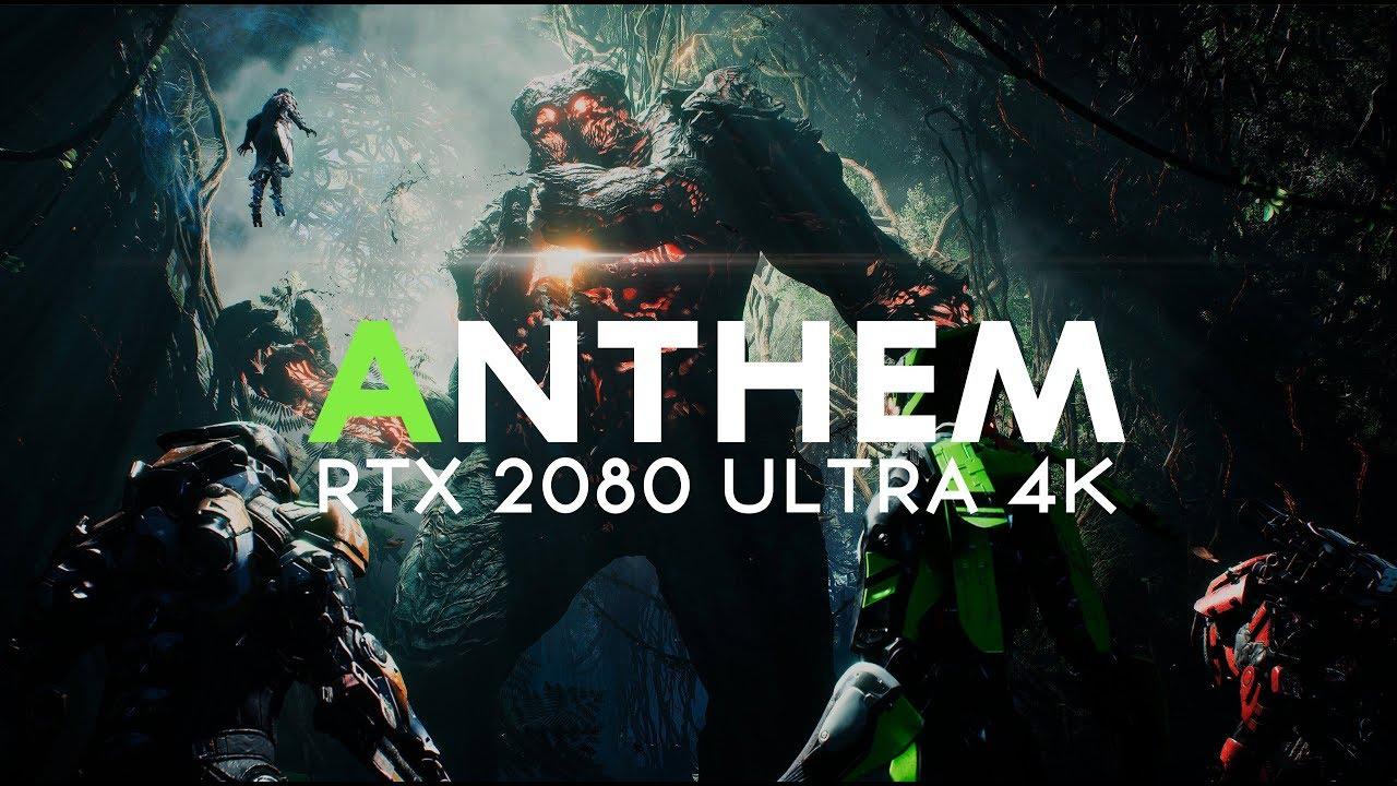 ANTHEM ULTRA RTX REALISMO | RTX 208O 4k ULTRA WIDE - GAMEPLAY [PT]