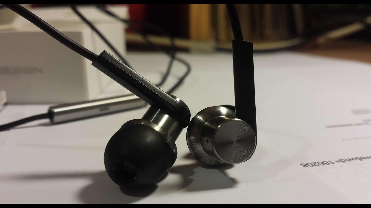 Xiaomi IEM Hybrid Dual Driver earphones unboxing Piston V4 ...