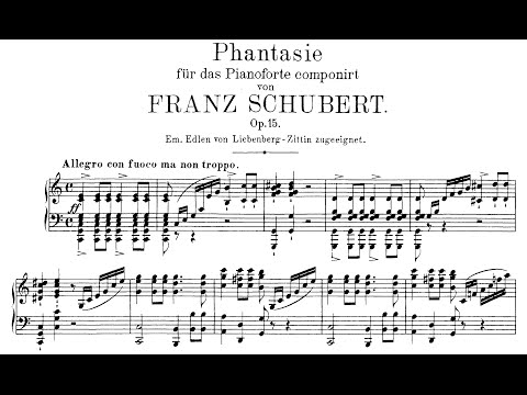 Schubert: Wanderer Fantasy in C Major, Op.15 (Lewis)