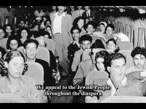 Full Recording - Israeli Declaration of Independence