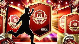 MY INSANE FUT CHAMPIONS REWARDS! FIFA 19 Ultimate Team
