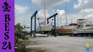 Ep. 24 - Our Trip to the Boatyard ~ Big Easy Sailing