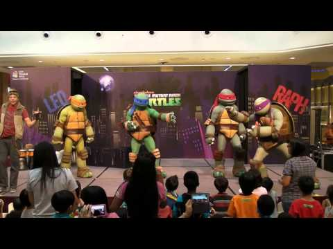 Teenage Mutant Ninja Turtles Live! at City Square Mall, Singapore