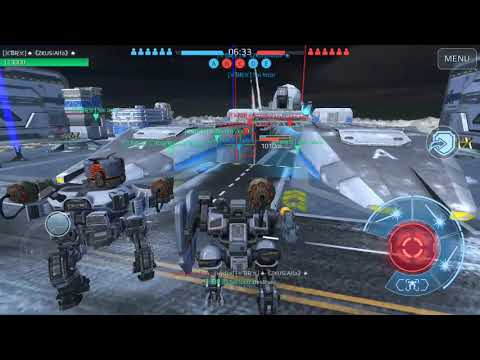 "War Robots ""Brasil Team  x ""I am FX"" e ""PSYCHOTIC."""