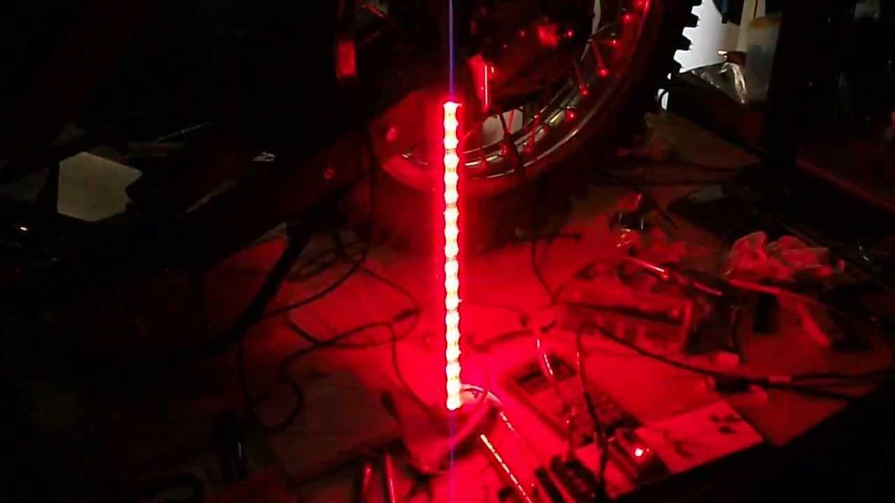 flagpole flashing led with light off & flagpole flashing led with light off - YouTube